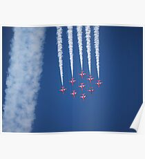 Red arrows 2011 Poster