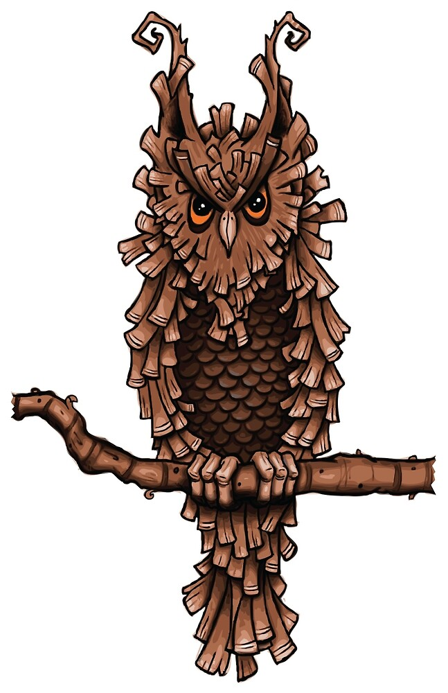 The Great Goblin Tree Owl by oneoddegg