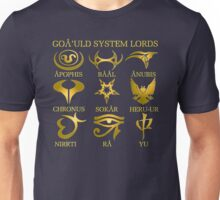 Goa'uld System Lords Unisex T-Shirt