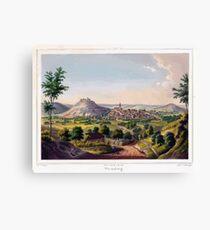 Johannes Läpple Weinsberg Eberhard Emminger Ca 1855 Farbig Canvas Print