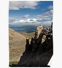 Loch Morlich from the ridge above Coire an t-Sneachda Poster