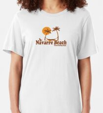 Navarre Beach - Florida. Slim Fit T-Shirt