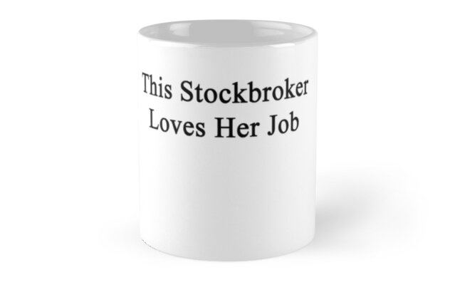 This Stockbroker Loves Her Job  by supernova23
