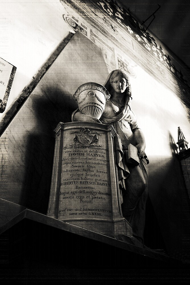 Mourning Over The Urn by Dave Godden