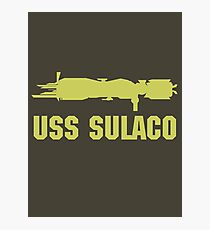USCM Colonial Marines USS Sulaco  Photographic Print