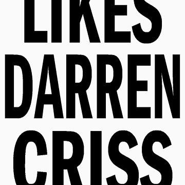 Likes Darren Criss by KatieJMiller