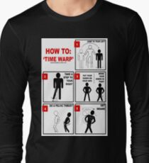 Rocky Horror Picture Show Time Warp Long Sleeve T-Shirt