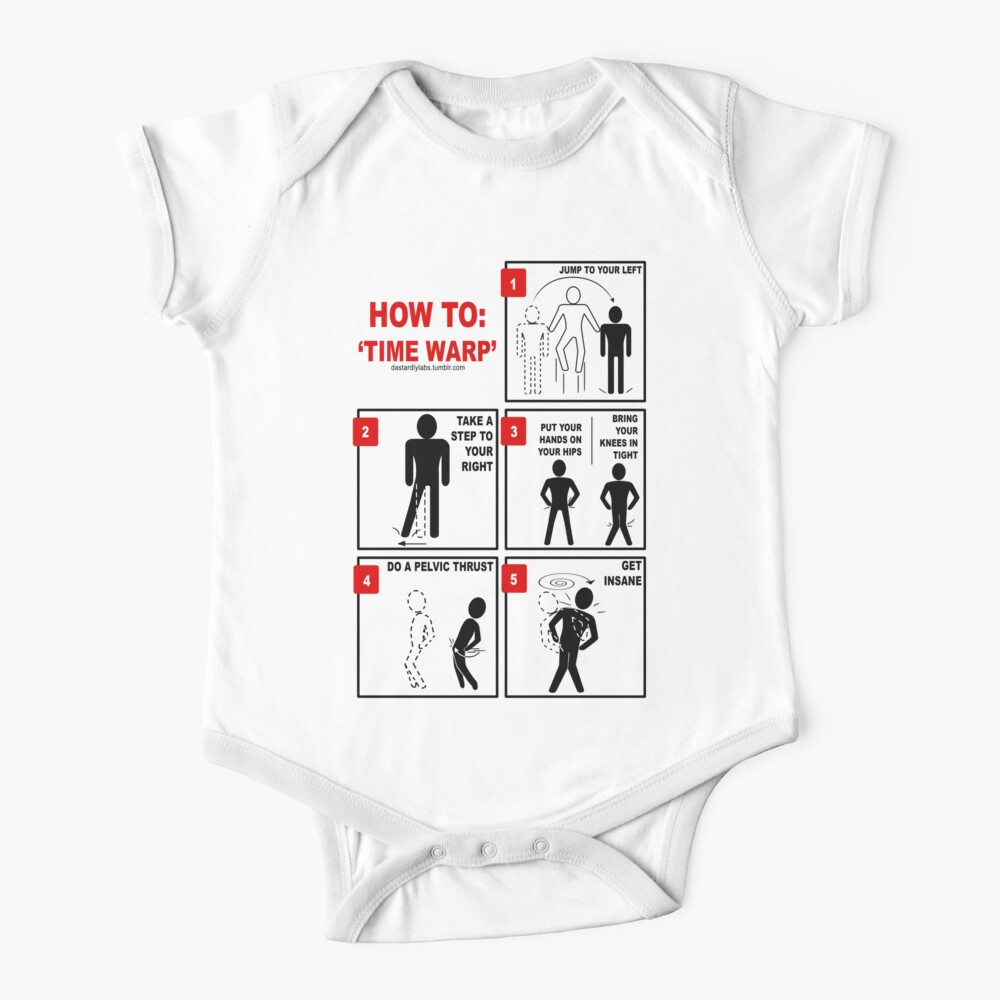 Rocky Horror Picture Show Time Warp Baby One-Piece