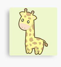 Kawaii Giraffe Canvas Print