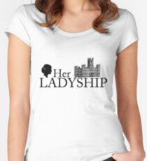 Her Ladyship Women's Fitted Scoop T-Shirt