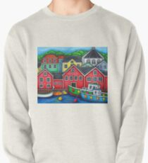 Colours of Lunenburg, Nova Scotia Pullover