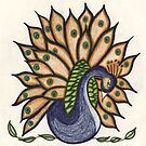 lotus peacock by Art By Misty