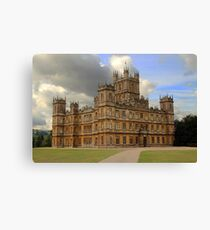 Downton Abbey Canvas Print