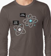 Negative Atom Long Sleeve T-Shirt