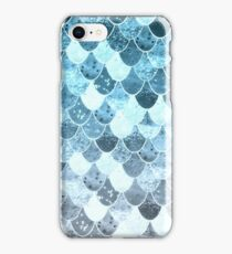 REALLY MERMAID SILVER BLUE iPhone Case/Skin