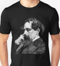 Charles Dickens portrait Unisex T-Shirt