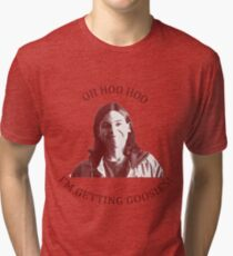 I'M GETTING GOOSIES Tri-blend T-Shirt