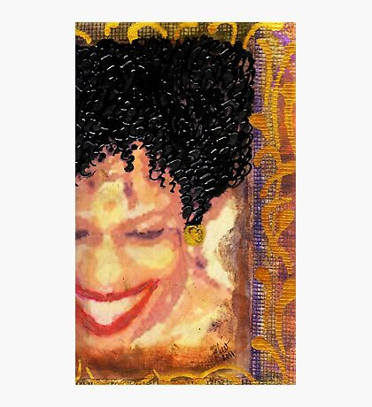 The Artist Who Found her SMILE Photographic Print