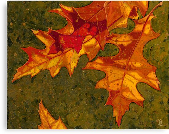 Oak Leaves by Richard Bradish Jr