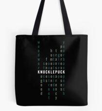 Pop Punk Word Find Tote Bag