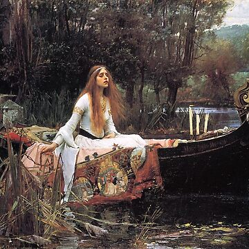 The Lady of Shalott by John William Waterhouse by Aconissa