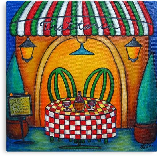 Table for Two in Italy by LisaLorenz