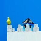 Battlements in Blue II by Didi Bingham