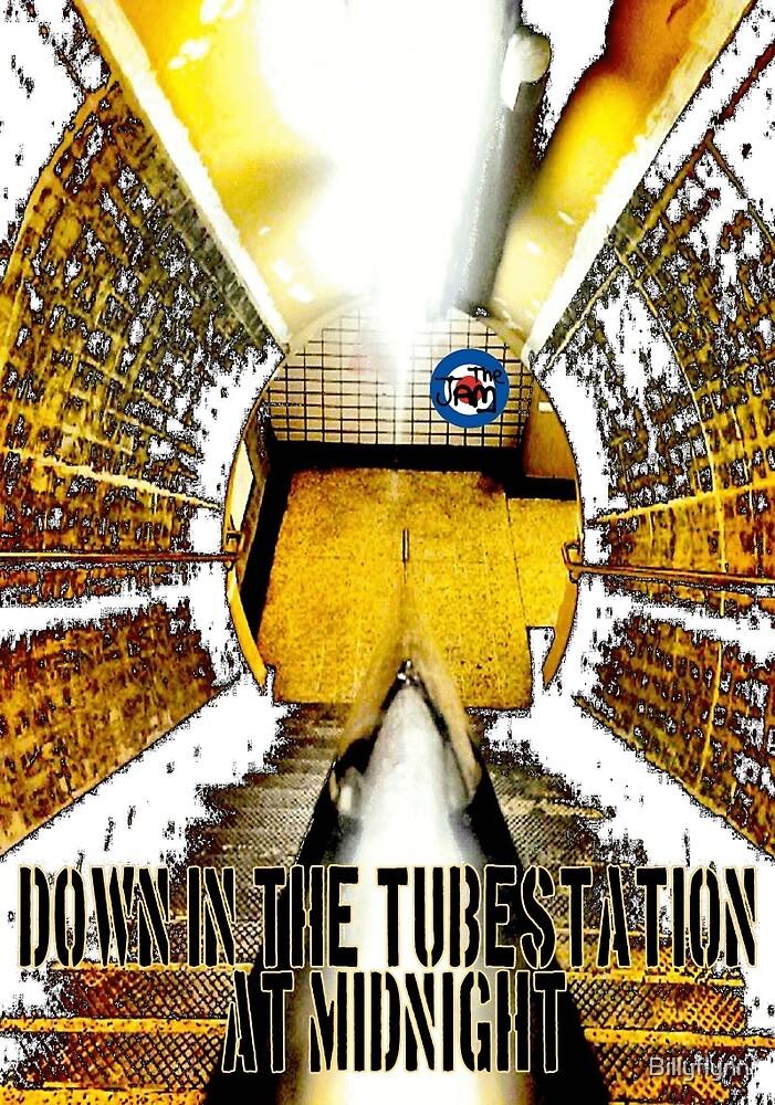 Down in the Tubestation at Midnight by Billyflynn