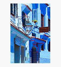 Blue City VI Photographic Print