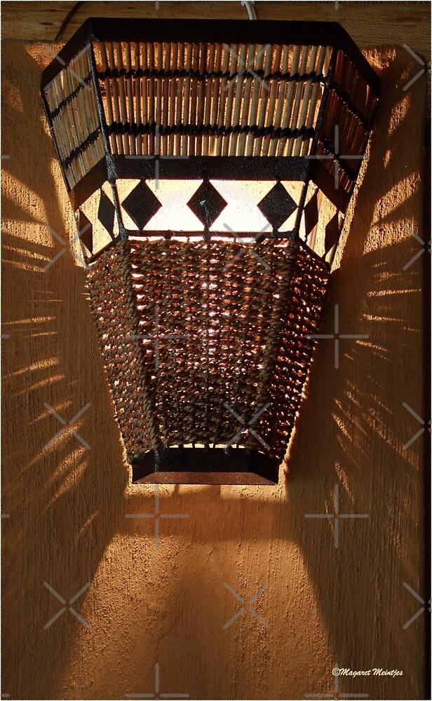 AFRICAN OUTDOOR LIGHTING in RATTAN by Magriet Meintjes