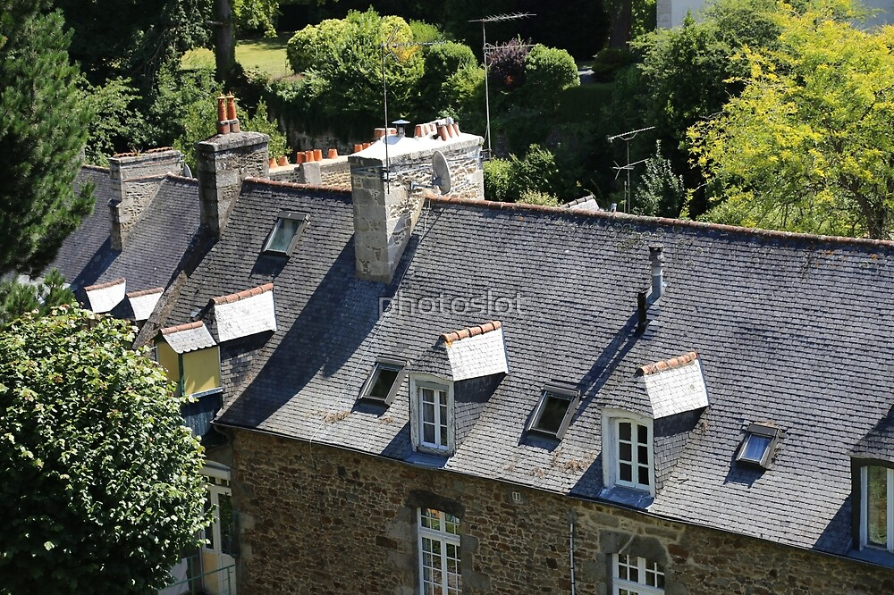 Dinan, Brittany, France by photoslot