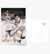 Mickey Mantle Postcards