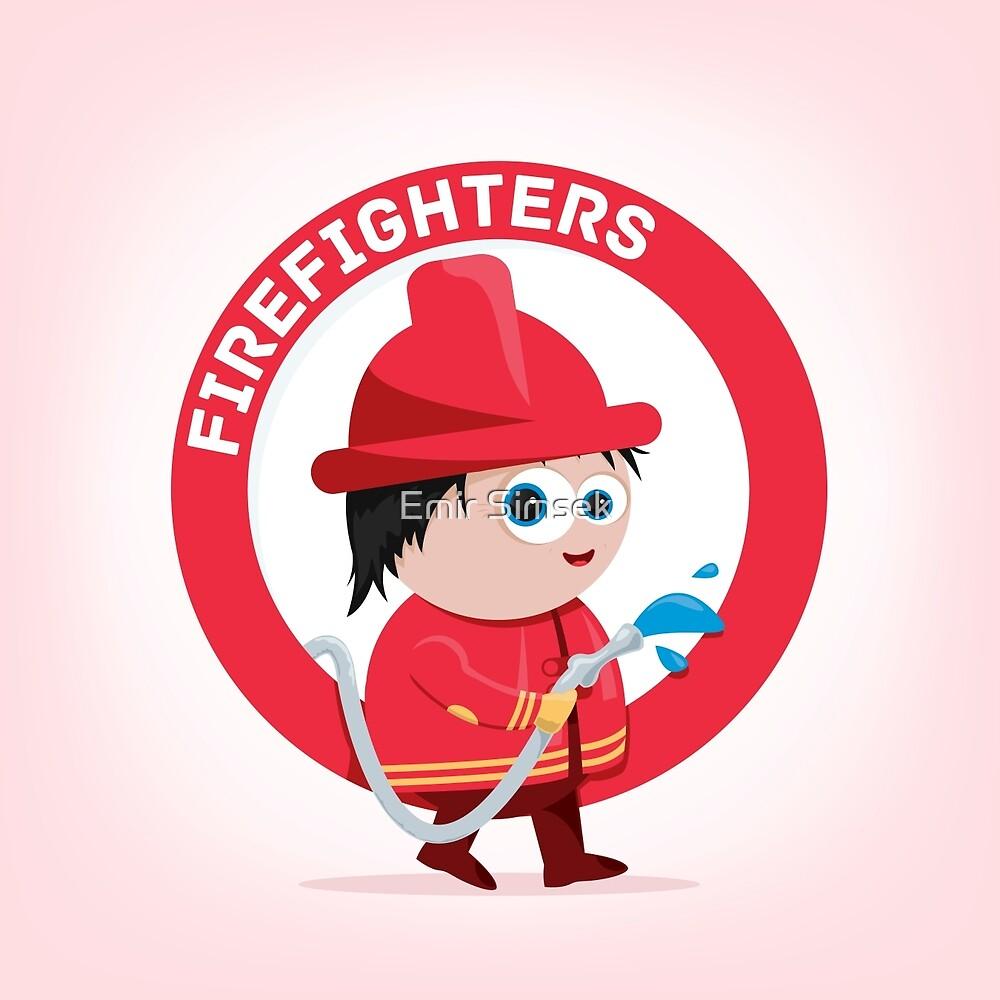 Firefighter by Emir Simsek