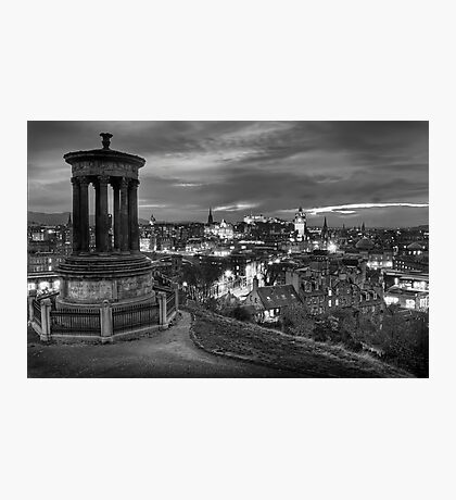 Edinburghs View Photographic Print