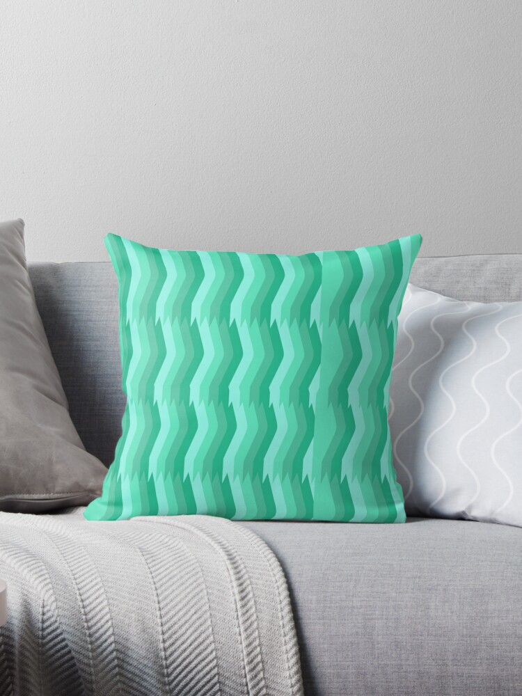 Tantalizing Teal Stripes by elledeegee