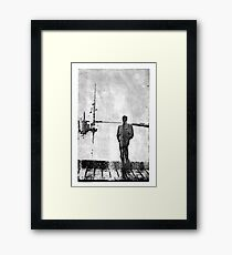 tall ships Framed Print