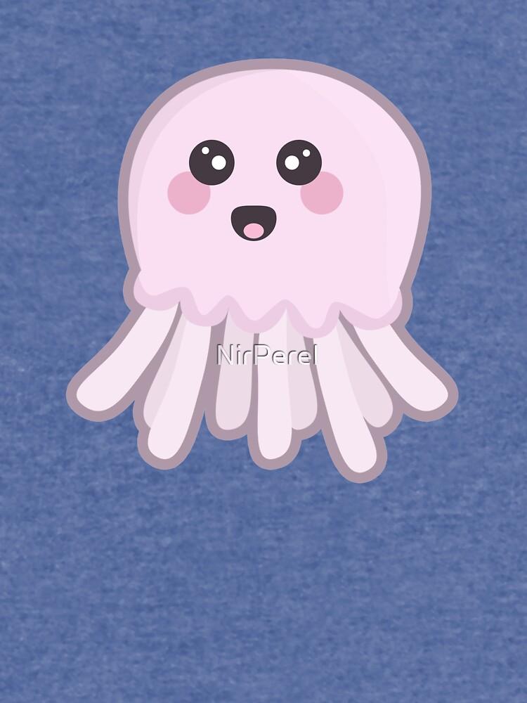 Kawaii Jellyfish by NirPerel
