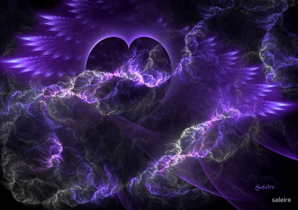 Angel Healing by saleire