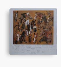 Hickstead Derby Winners 1961-1995 Canvas Print