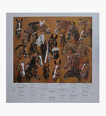 Hickstead Derby Winners 1961-1995 Photographic Print