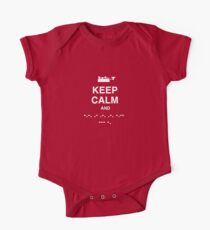Keep Calm and Carry On - Morse Code T Shirt Kids Clothes