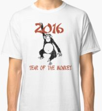 Chinese Zodiac Year of The Monkey 2016 Classic T-Shirt