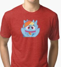 Rainbow Dash Bigger Tri-blend T-Shirt