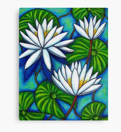 Nymphaea Blue Canvas Print