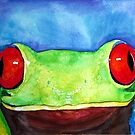 Tree Frog by SESE