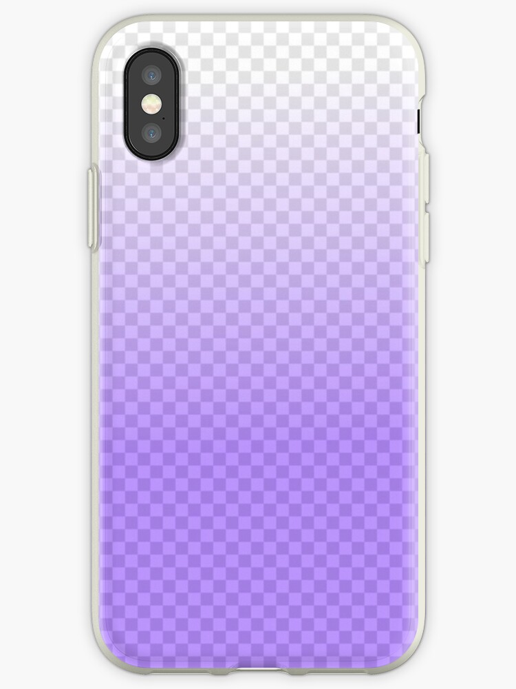 Purple Transparent Squares Phone Case by elliesnotonfire