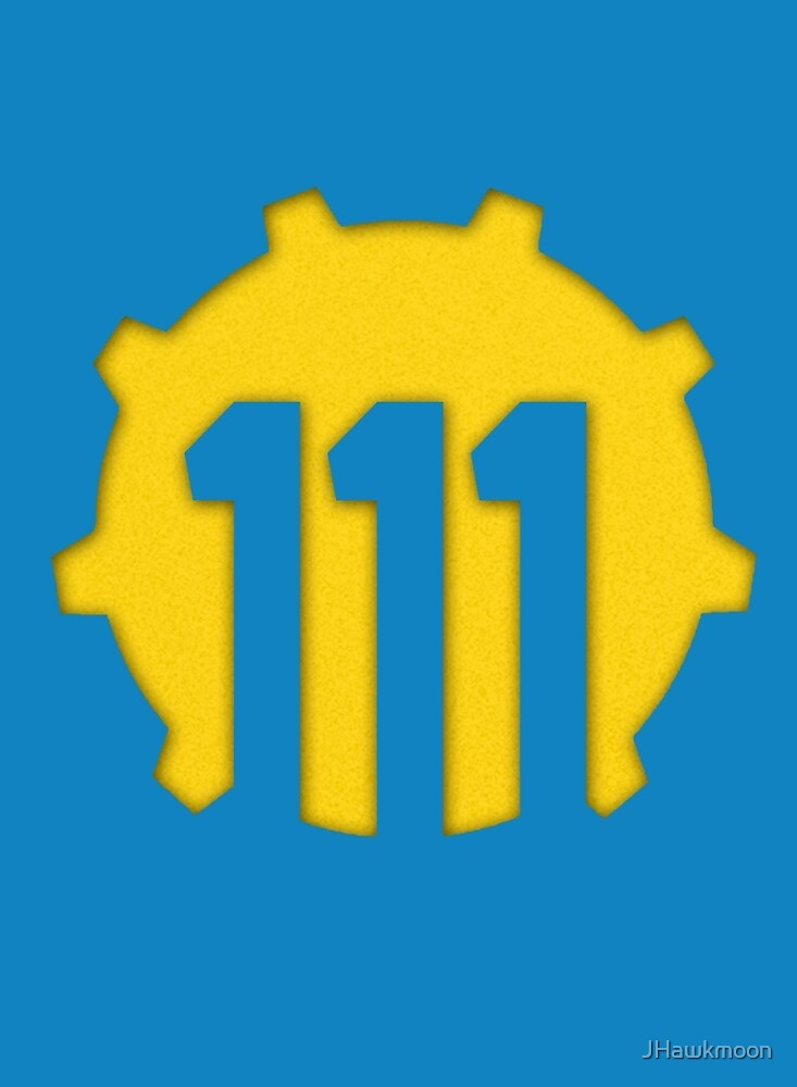 Vault 111 Logo by JHawkmoon