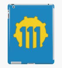 Vault 111 Logo iPad Case/Skin
