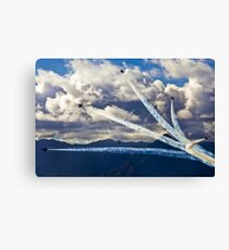 Air show Canvas Print