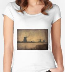 Windmills Women's Fitted Scoop T-Shirt